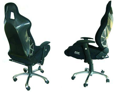 fauteuil de bureau siege baquet le coin gamer. Black Bedroom Furniture Sets. Home Design Ideas