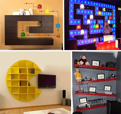 Decoration gaming le coin gamer for Decoration maison geek