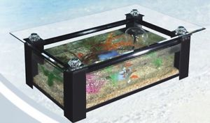 Table de salon aquarium a vendre