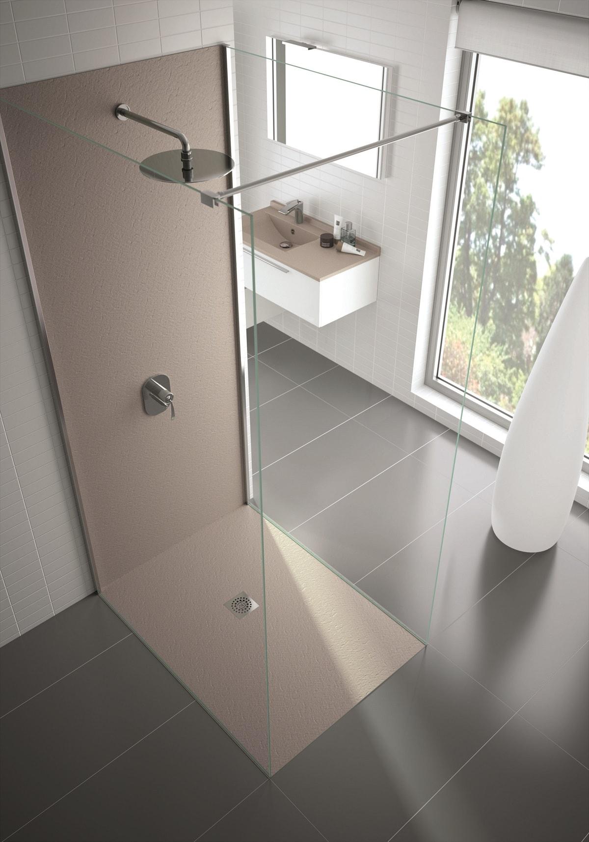 panneaux muraux tanches pour habiller la douche le coin gamer. Black Bedroom Furniture Sets. Home Design Ideas