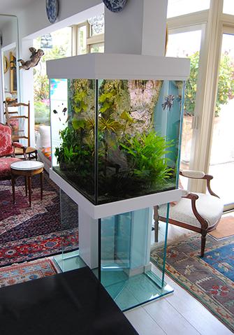 Vente aquarium colonne
