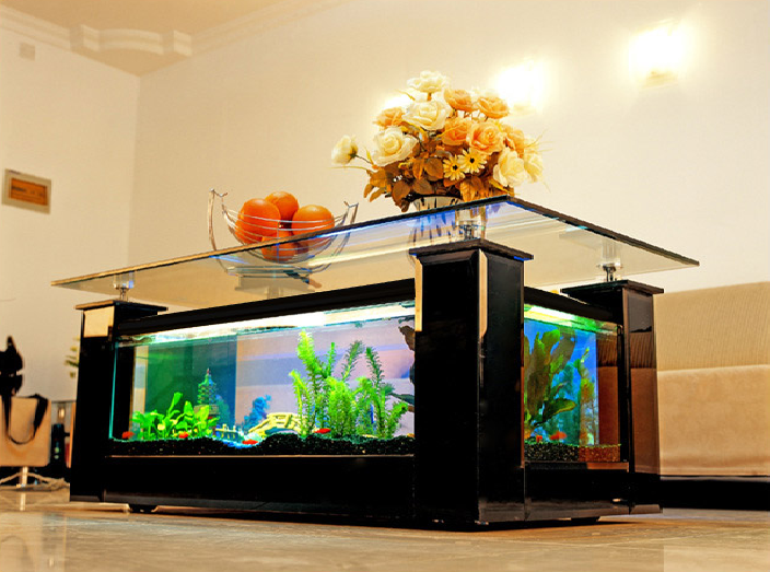 Acheter table aquarium