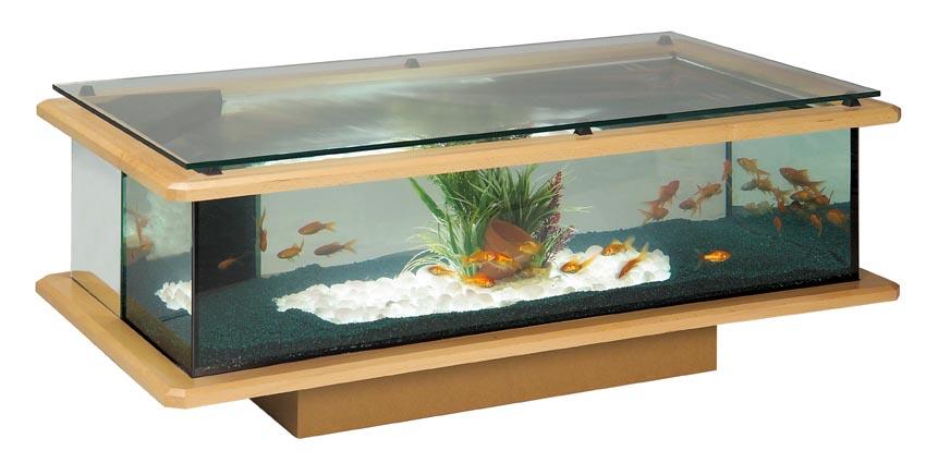 Table salon aquarium vendre