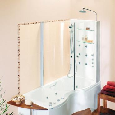 Lapeyre baignoire douche