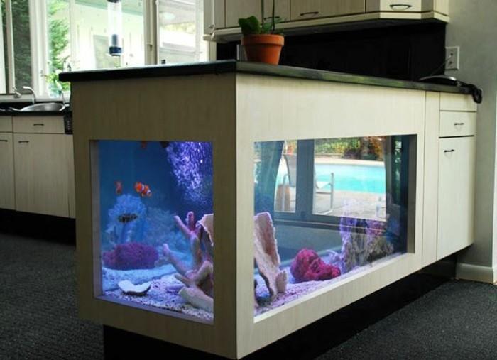 Aquarium et meuble pas cher