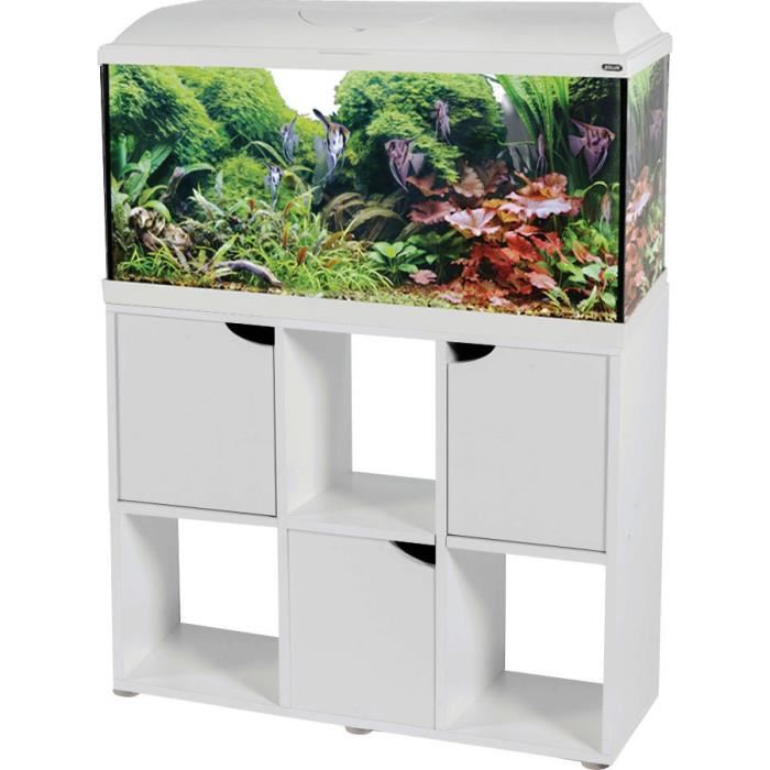 Aquarium 100 litres avec meuble
