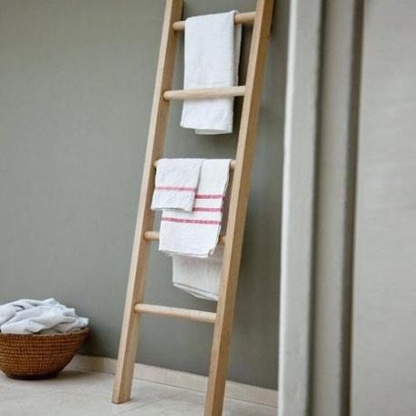 Porte serviette bambou ikea